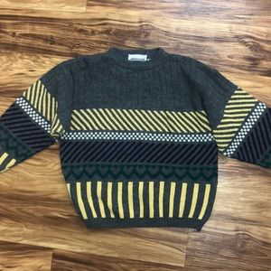 VINTAGE retro knit sweater
